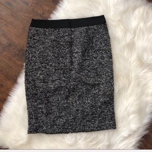 Boden Wool And Alpaca Blend Tweed Pencil Skirt